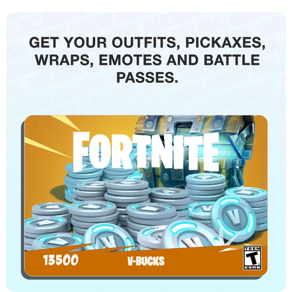 Fortnite 13500 V-Bucks