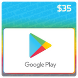 Google Play $35 Gift Card Codes (US) - eCards Aruba