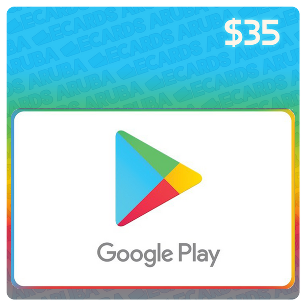 Google Play $35 Gift Card Codes (US)
