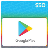 Google Play $50 Gift Card Codes (US) - eCards Aruba