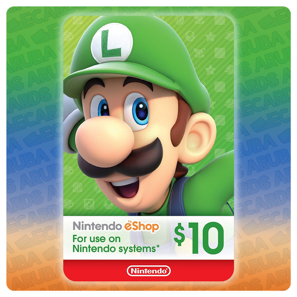 Nintendo eShop $10 Gift Card Codes (US)