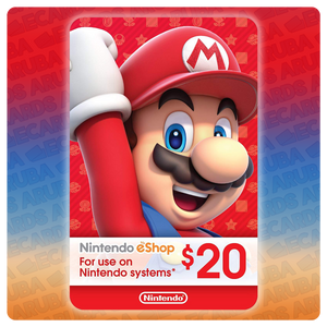 Nintendo eShop $20 Gift Card Codes (US) - eCards Aruba