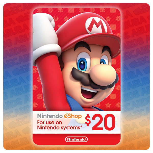 Nintendo eShop $20 Gift Card Codes (US)