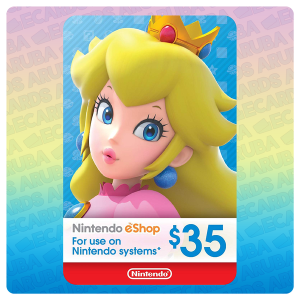Nintendo eShop $35 Gift Card Codes (US)