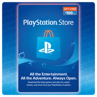 PlayStation Network $100 Gift Card Codes (US)