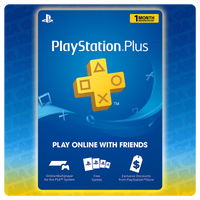 PlayStation PLUS 1 Month Gift Card Codes (US)