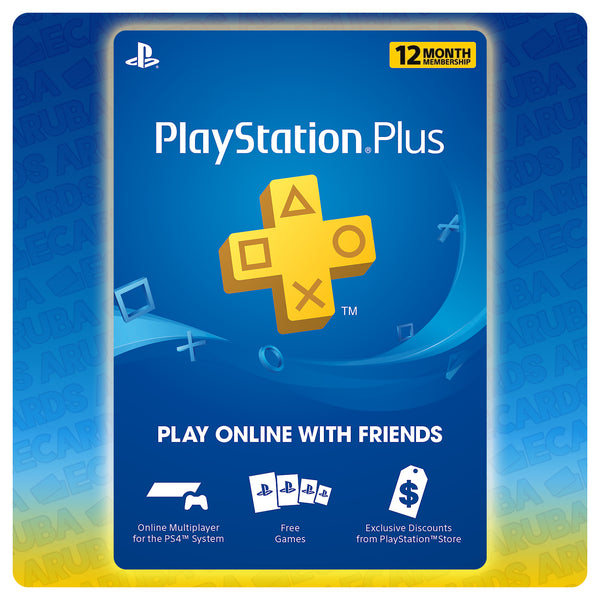 PlayStation PLUS 12 Months Gift Card Codes (US)