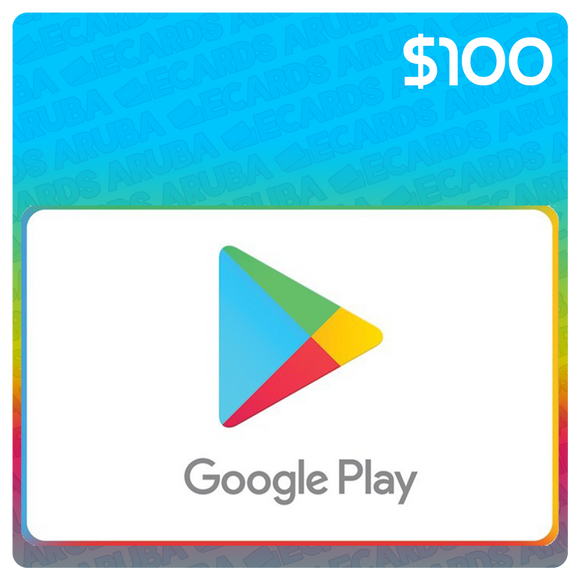 Google Play $100 Gift Card Codes (US)
