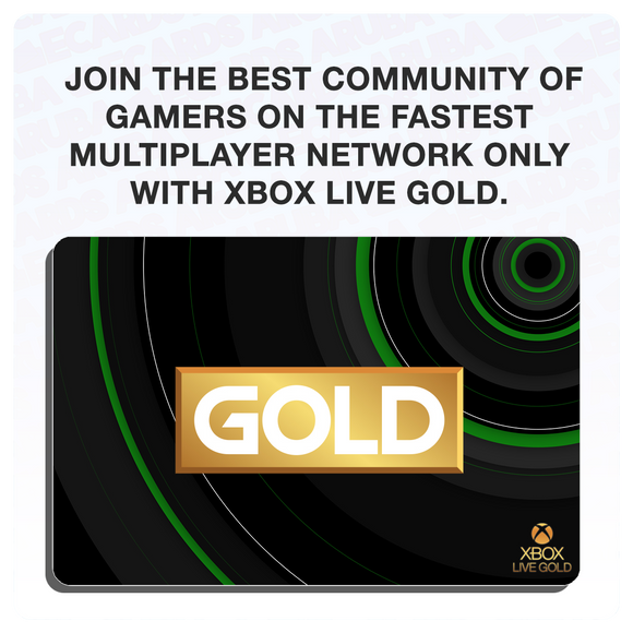 Xbox Live Gold 12 Months Gift Card Codes (US) (Requires VPN if outside U.S.)