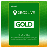 Xbox Live Gold 3 Months Gift Card Codes (US) - eCards Aruba