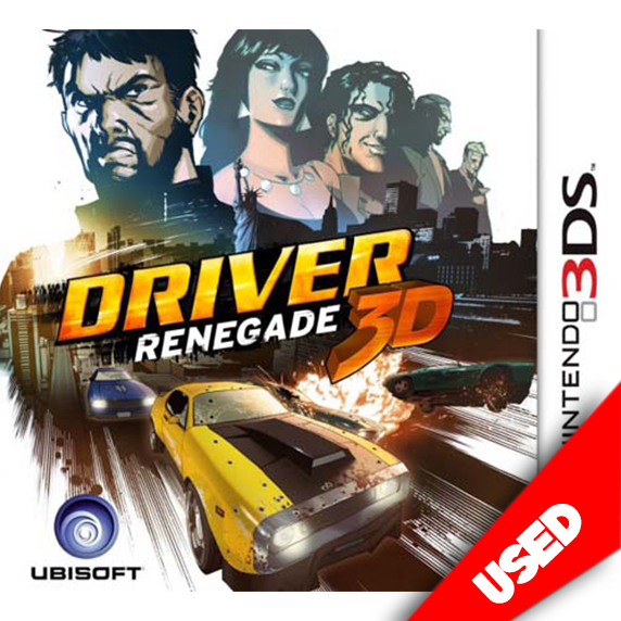 Driver Renegade (3DS) - eCards Aruba