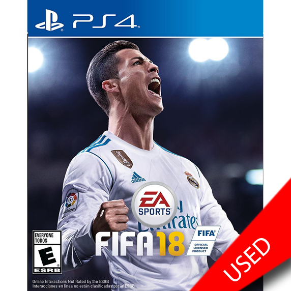 FIFA '18 (PS4) - eCards Aruba