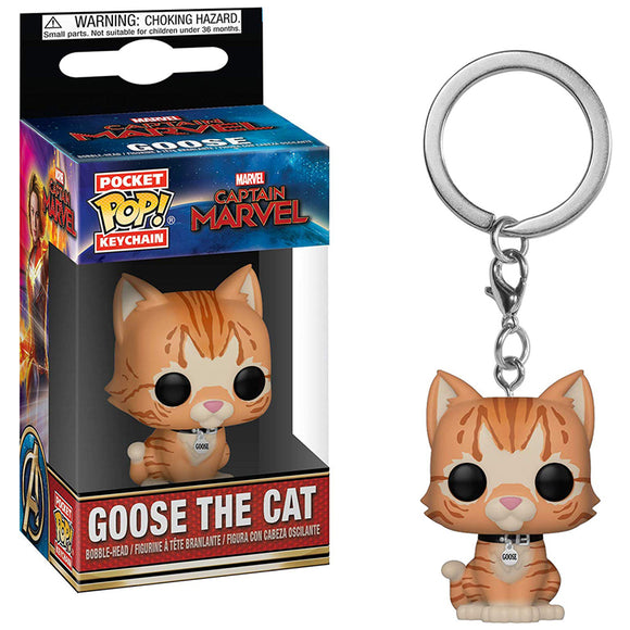 Funko Pop! Keychain Marvel - Captain Marvel - Goose The Cat - eCards Aruba