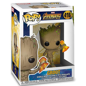 Funko POP! Marvel: Avengers Infinity War - Groot with Stormbreaker - eCards Aruba