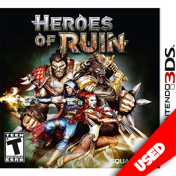 Heroes of Ruin (3DS) - eCards Aruba