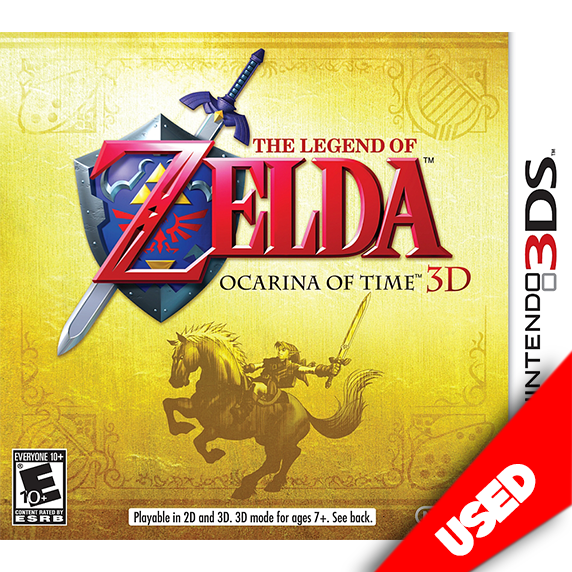The Legend of Zelda: Ocarina of Time 3D (3DS) - eCards Aruba