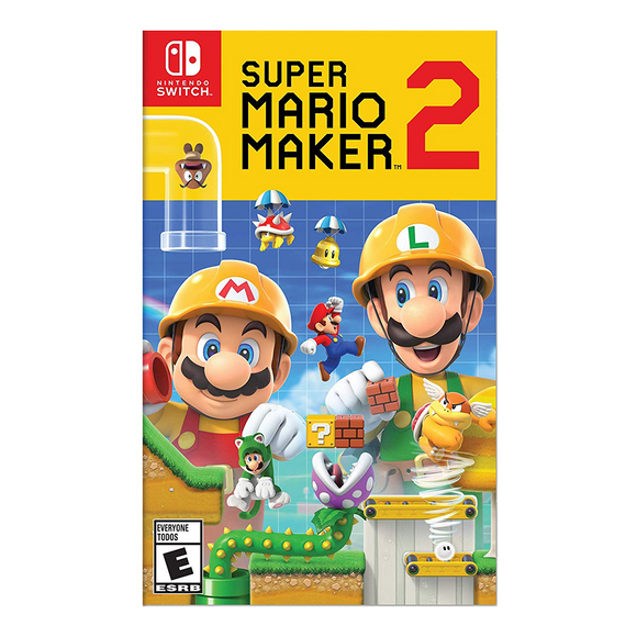 Super Mario Maker 2 - Nintendo Switch (Digital Code) - eCards Aruba