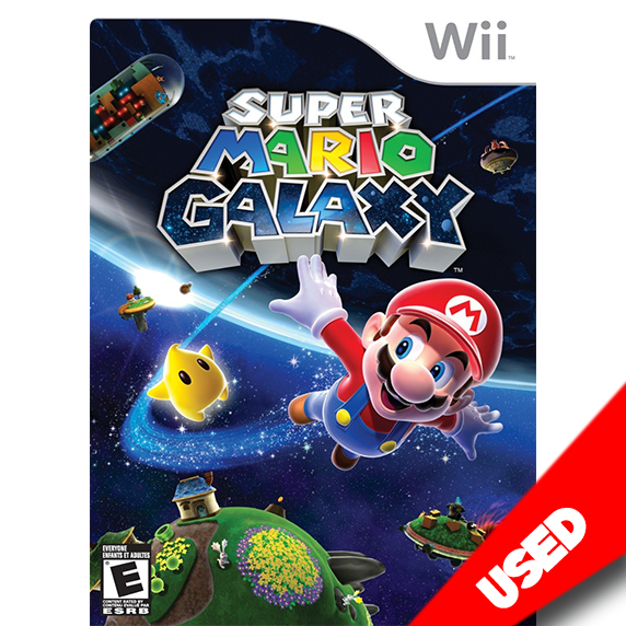 Super Mario Galaxy (Wii) - eCards Aruba