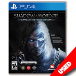 Middle Earth: Shadow of Mordor Game of the Year Edition (PS4) - eCards Aruba