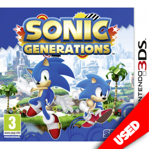 Sonic Generations (3DS) - eCards Aruba