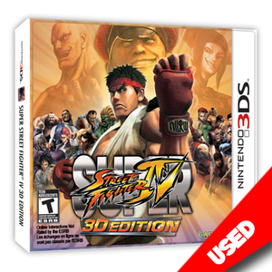 Super Street Fighter IV: 3D Edition - eCards Aruba