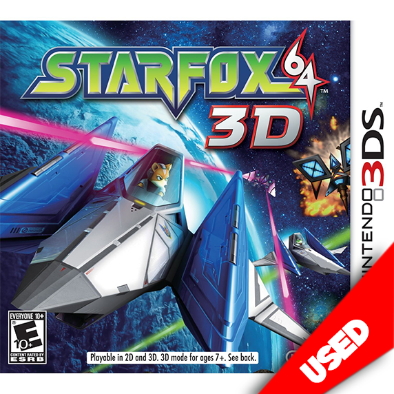 Star Fox 64 3D (3DS) - eCards Aruba