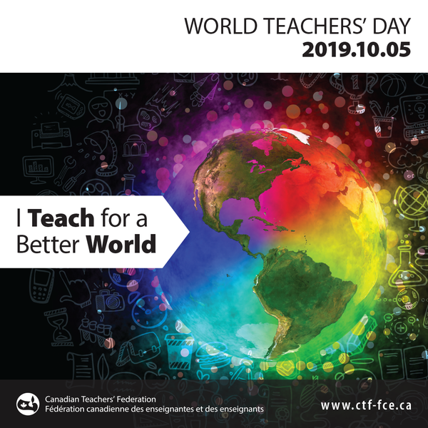 World Teachers' Day 2019 Promotion - Canada-wide $10 Flat Shipping