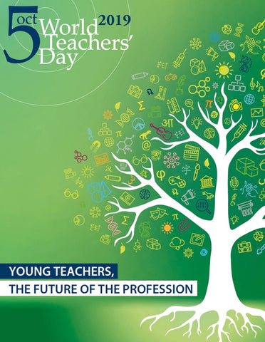 UNESCO World Teachers' Day 2019 poster