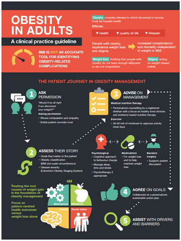 Obesity in Adults Guidelines Sheet