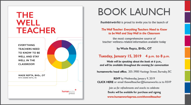 The Well Teacher Book Launch Invitation