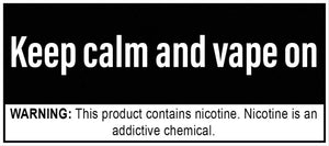 A message of positivity to the vaping community.