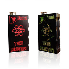 two black twin reactor mechanical vape mods