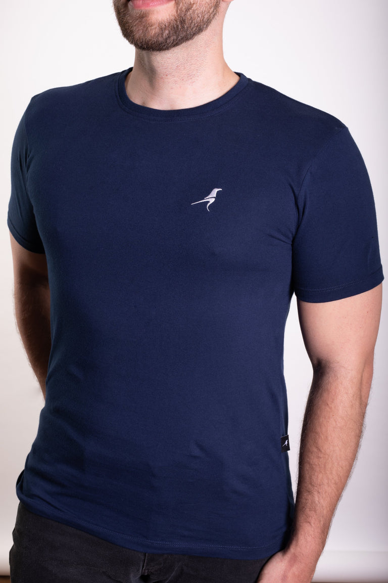 RAVEN ROCK Custom Fit Cotton T-shirt - Navy