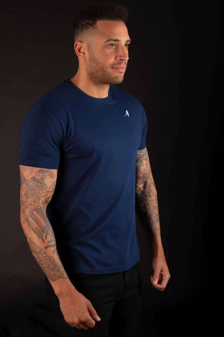 RAVEN ROCK Custom Fit Cotton T-shirt - Navy - Raven Rock Clothing