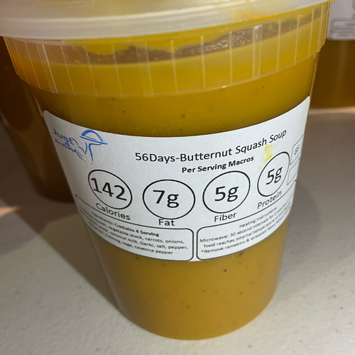Butternut Squash Soup - TheNext56Days Approved