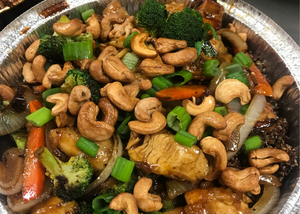 Cashew Chicken Bowl - The Next56Days Approved