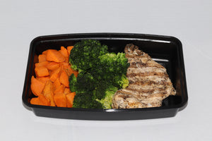 Grilled Chicken w/ Sweet Potatoes & Broccoli (Uncle Lou XL)