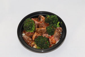 Mongolian Beef & Broccoli over Cauliflower Rice