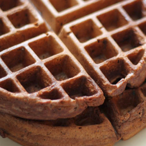 Choco-Peanut Butter Protein Waffle