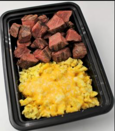 **NEW** Steak and Cheesy Eggs