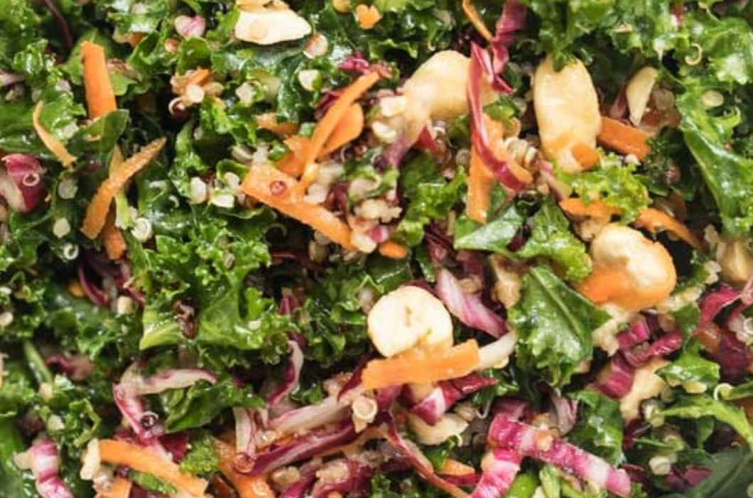 Asian Kale Quinoa Salad