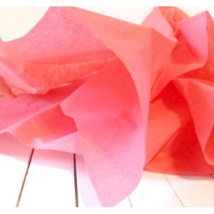 Gift Tissue Paper - Coral Pink-Tissue Paper-Cute Boxes and Bags