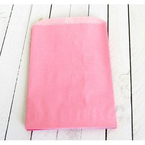 Glassine Lined Paper Bags - Pink-Food Bags-Cute Boxes and Bags