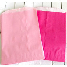Glassine Lined Paper Bags - Rose Pink-Food Bags-Cute Boxes and Bags