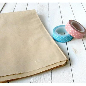 Kraft Paper Merchandise Bags-Paper Bags-Cute Boxes and Bags