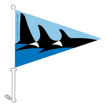 Load image into Gallery viewer, Orca Protectors Car Pennant