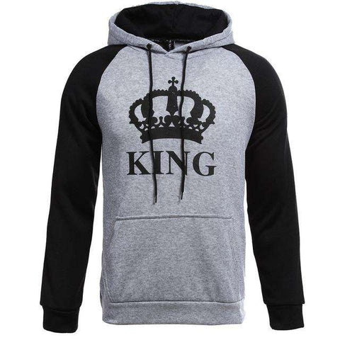 King Queen Sweet capuche gris