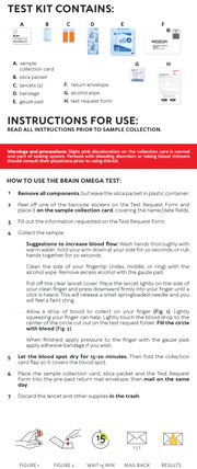 Brain-Omega Test Plus - Brain Bean