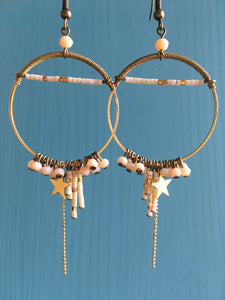Boucles d'oreilles Look at the stars