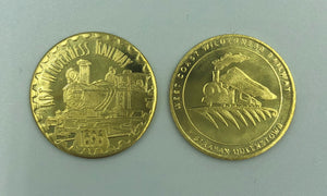 Souvenir Gold Coin